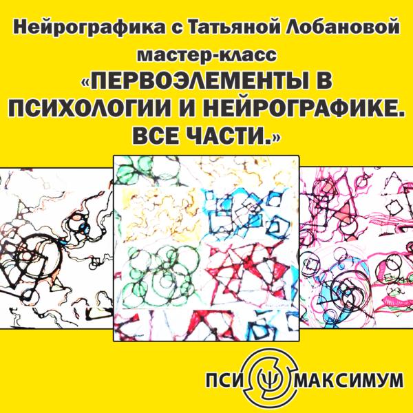 Первоэлементы в психологии и нейрографике. Все части.